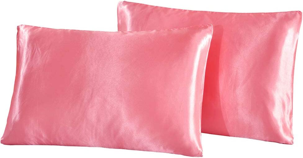 YXKA Bedsure Tencel Pillowcase Set Breathable Silky Soft Pillow Cover Pillowcase Protectors for Set Satin ...
