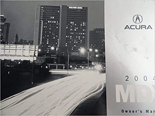 2004 acura mdx manual