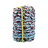 BAI-Fine Tug-of-war Competition Rope 10m, 15m, 20m, 25m, 30m, 40m Fun Tug of War Rope Adult Child Rope School Sports Group Group Activities (Size : 10m)