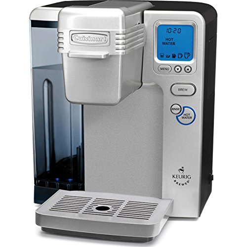 Cuisinart SS-700 Single Serve Brewing System, Silver Powered by Keurig (Certified Refurbished)