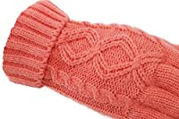 Simplicity Womens Girls Knit Three Touchscreen Fingers Gloves