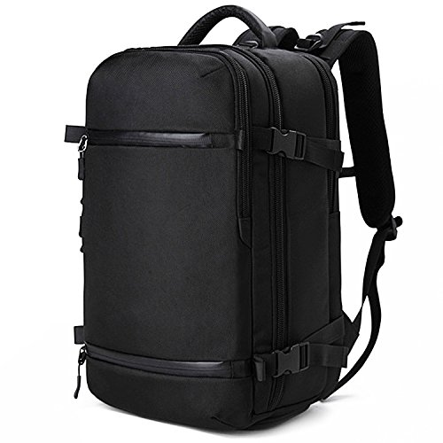 Lifewit Large Travel Laptop Backpack Flight Approved Carry on Weekender Bag with USB Charging Port Anti Theft Water Resistant Computer Daypack Fits 15.6 Inch Notebook