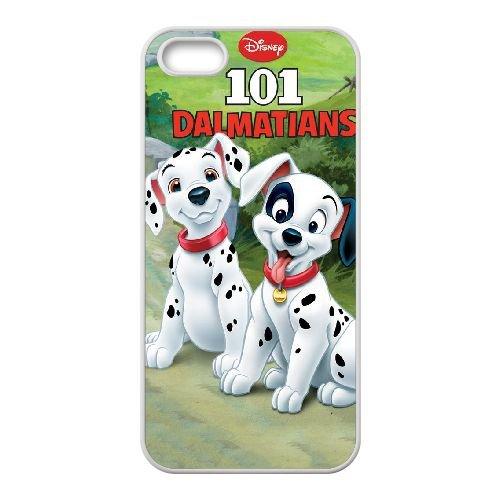 P1Y58 Dalmatiens T4O1JP animée coque iPhone 4 4s cellule de cas de téléphone couvercle coque blanche WW5ZUF4XR