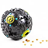 J.Y Pet Toys IQ Treat Balls Interactive Food Dispensing Toy for Dogs and Cats ,3 Size Funny Squeaky Dog Toy (S)