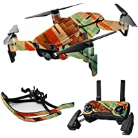MightySkins Skin for DJI Mavic Air Drone - Abstract Wood | Max Combo Protective, Durable, and Unique Vinyl Decal wrap cover | Easy To Apply, Remove, and Change Styles | Made in the USA