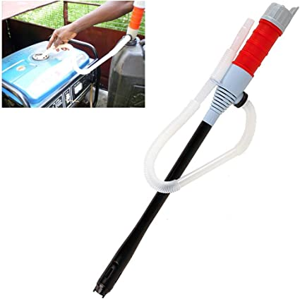 Bomba de sifón eléctrica para líquidos, funciona con pilas (8 l/min de potencia de bombeo),