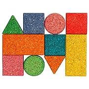 Korxx Korxx4260385790170 380 g Baby Coloured Building Block (10-Piece)