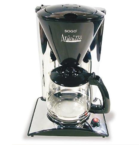 Sogo SS-787 Cromo - Máquina de café: Amazon.es: Hogar
