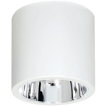 Elegante Deckenleuchte Weiß Bauhaus E27 Bis Zu 60 Watt 230v Aus Metall Flur Küche Esszimmer Lampe Leuchte Innen