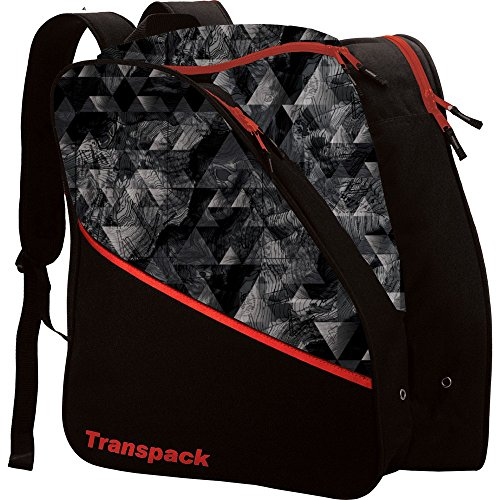 Transpack Edge Junior Ski Boot Bag 2018 - Gray Topo - Edge Ski Bag