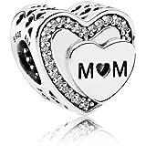 Pandora 792070CZ Charm Mom