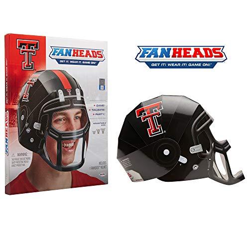 FanHeads - Texas Tech Red Raiders Helmet ()