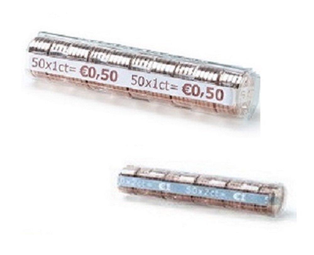 Blister per monete euro - 250 blister portamonete misti 1 cent e 2 cent Thecointainer