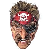 Pirate Chinless Vinyl Mask
