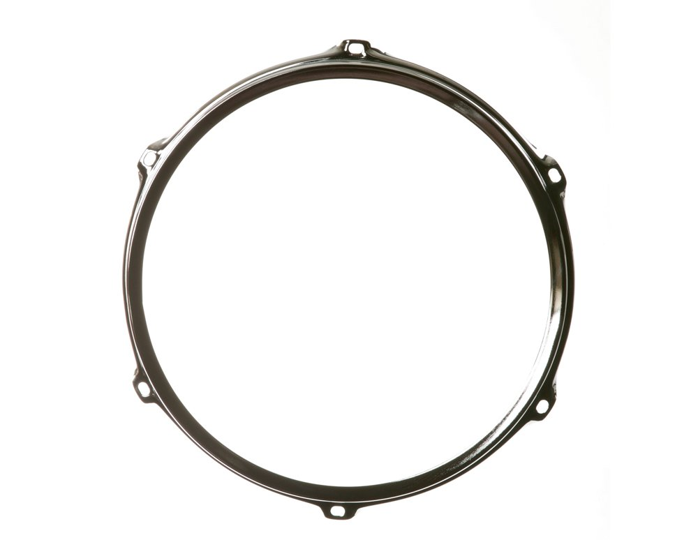 Ahead S-Hoop Drum Hoop Chrome 12 Inch 6 Hole ASH126