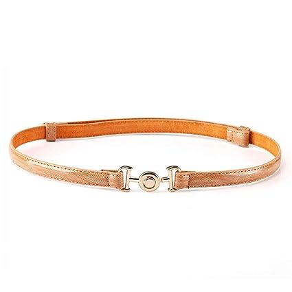 Styhatbag Cinturón de Mujer para Mujer La Correa de Cintura Delgada de los  Vaqueros Retros de 895d9fb093c4