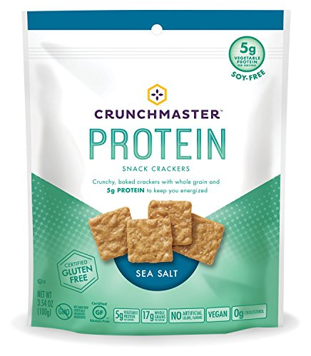 Multi Snack - Crunchmaster Protein Snack Crackers, Sea Salt