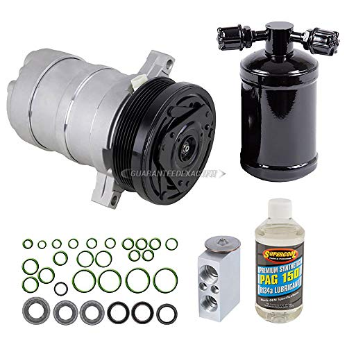 AC Compressor w/A/C Repair Kit For Chevy Camaro Pontiac Firebird 1993-1997 - BuyAutoParts 60-80190RK New