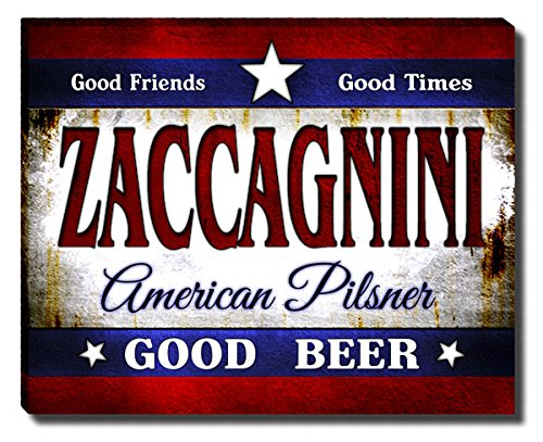 ZuWEE Zaccagnini's American Pilsner Gallery Wrapped, used for sale  Delivered anywhere in USA