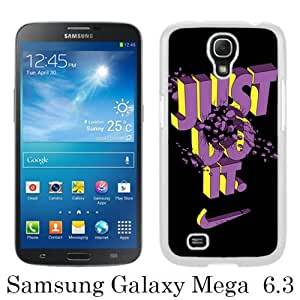 New Fashionable And Durable Designed Case For Samsung Galaxy Mega 6.3 I9200 With Nike 3 White Phone Case