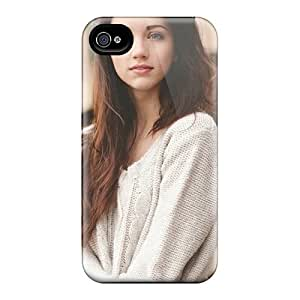 DaMMeke Case Cover Protector Specially Made For Iphone 4/4s Sweet Emily Rudd wangjiang maoyi