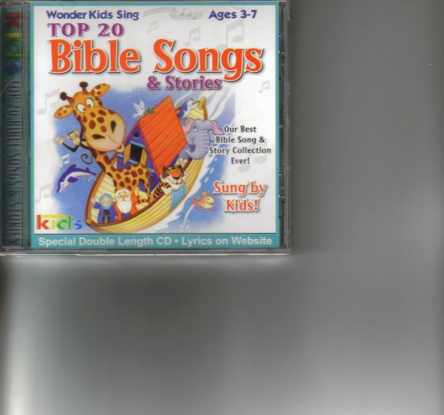 Wonder Kids Sing Top 20 Bible Songs & Stories