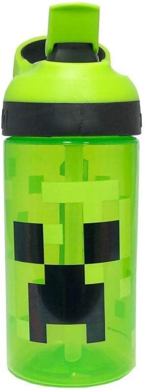 ni/ños Minecraft Botella de Agua de pl/ástico para ni/ños