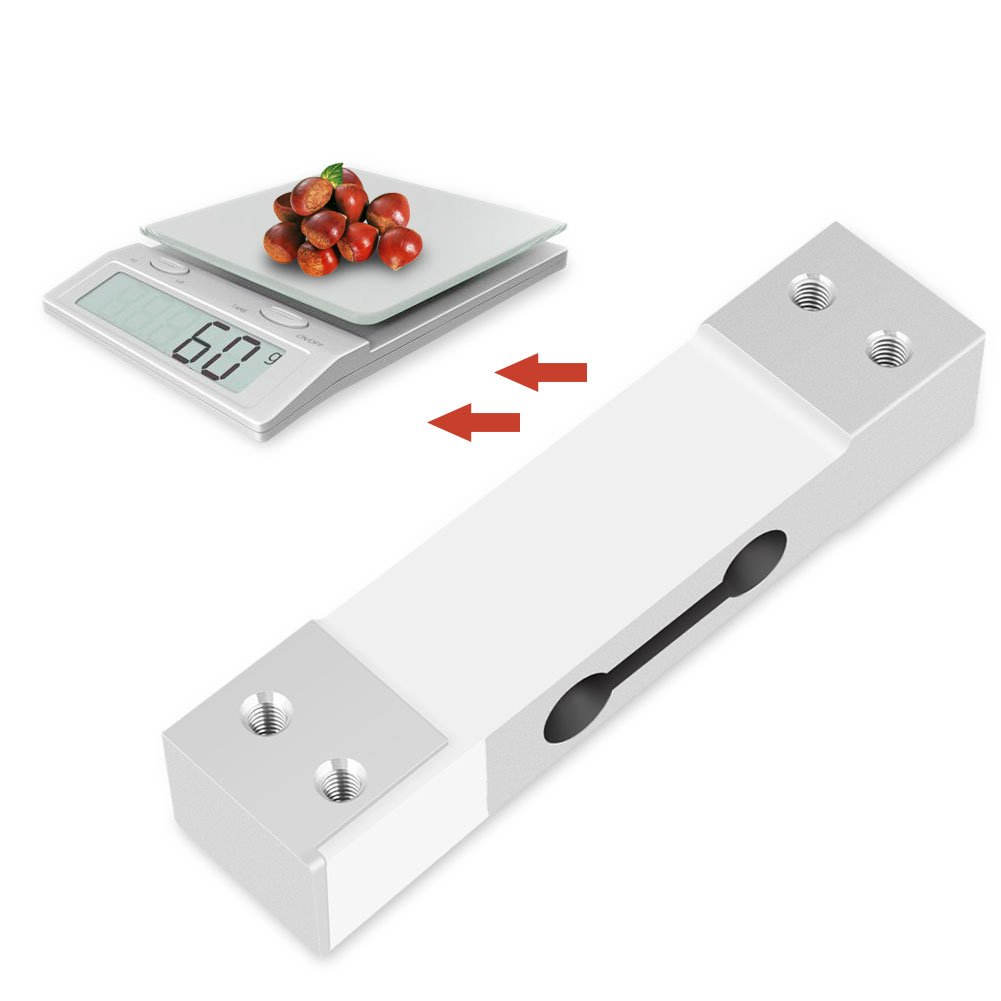 Sensor de Pesaje de 40KG CZL601 Sensor de Pesos Medidor de Peso de Aleaci/ón de Aluminio para Balanza El/éctrica