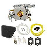 Janrui C1U-W8 C1U-W14 Carburetor Carb kit for Poulan 1950 2050 2150 2250 2375 2550 Craftsman Chainsaw Replace WALBRO WT-89 WT-324 WT-391 WT-600 WT-624 WT-625 WT-891 Carb 545081885 530069703