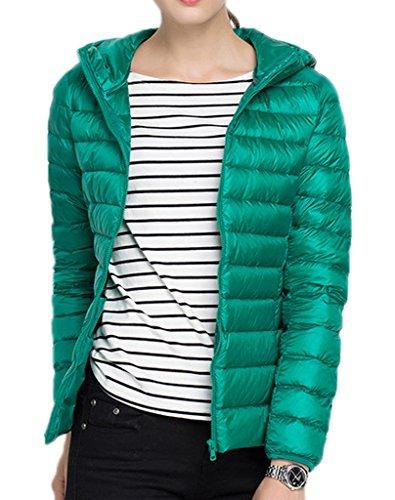 Vert Parka Rembourré Doudoune Femme Hiver Qualité Jacket Manteau Bigood Pour Blouson Chaud Duvet 3xl Courte Haute Ivx6Hw