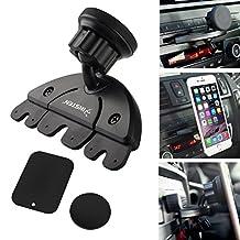Insten Universal CD Player Slot Magnetic Mobile Phone Car Mount Holder For Nexus 6P; Nexus 5X; Samsung Galaxy S7 Edge, LG G4, Apple iPhone 7/7 Plus/6S Plus, HTC One M7/M8/M9
