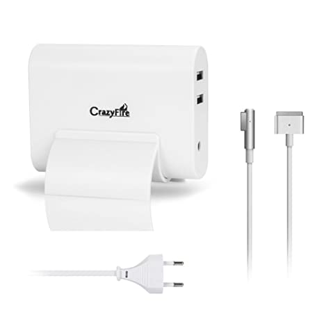 60 W MagSafe Fuente, Crazy Fire MacBook Power Cargador con ...