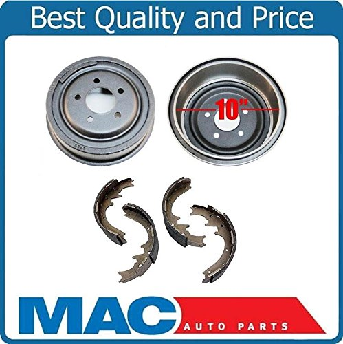 10inch Brake Drums & Brake Shoes for 1998-2009 Ford Ranger With Larger Size (2)