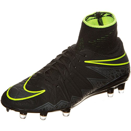 Nike Herren Hypervenom Phantom Ii FG Fußballschuhe Negro (Black / Black)