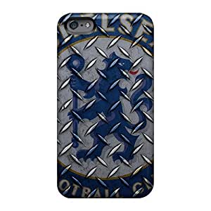 Shock Absorption Hard Phone Cover For Apple Iphone 6 With Unique Design Vivid Chelsea Fc 2012 Pictures