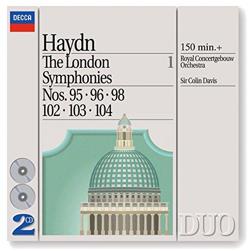 Haydn: The London Symphonies - Nos. 95, 96, 98 & 102 - 104
