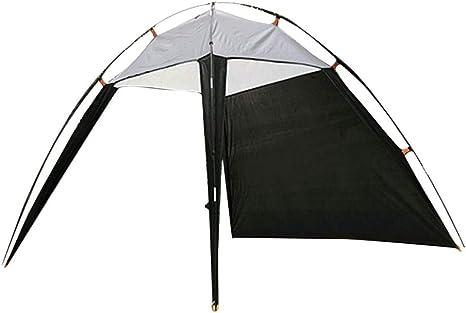 Generies - Tienda de campaña familiar para playa y parasol de cabaña, plegable instantáneo, portátil, transpirable, amplio campo de visión para camping, senderismo, pesca: Amazon.es: Deportes y aire libre
