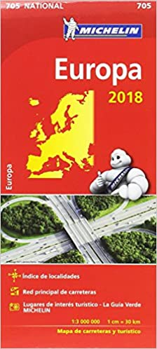 Mapa National Europa (Mapas National Michelin): Amazon.es: Vv. Aa, Vv. Aa: Libros