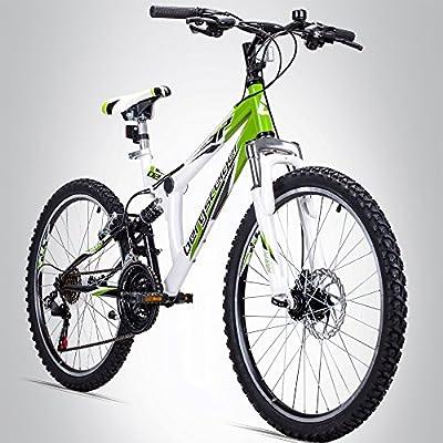 Bergsteiger Montreal Bicicleta infantil de montaña, 24 pulgadas ...