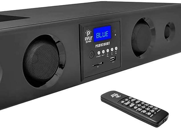 Pyle PSBV200BT Soundbar With Bluetooth USB//SD//Fm Radio 300W Max