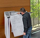 Adir Corp. Pivot Wall Rack with Hangers for
