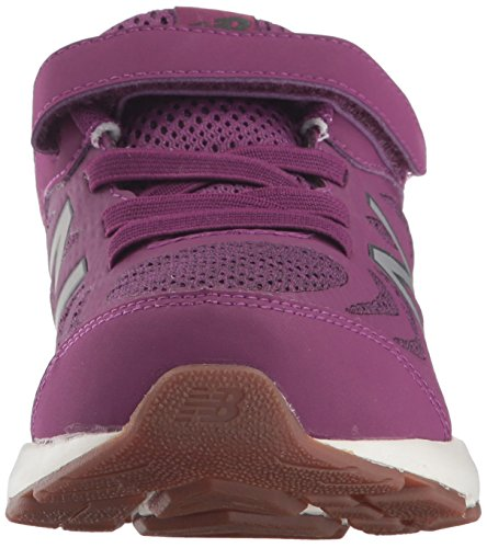 New Balance Girls' 519v1 Hook and Loop Running Shoe, Imperial/Phantom, 2 M US Infant by New Balance (Image #4)