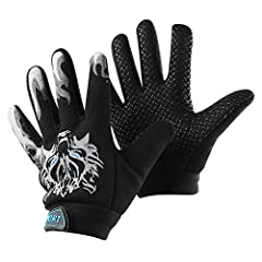 Features: Light,comfortable,non-slip,flexible,elastic,breathable,convenient,cool,camouflage. The gloves is so cool and attractive to children. Great gift to them! Breathable and elastic fabric, it lets kids wear comfortably and play freely. H...