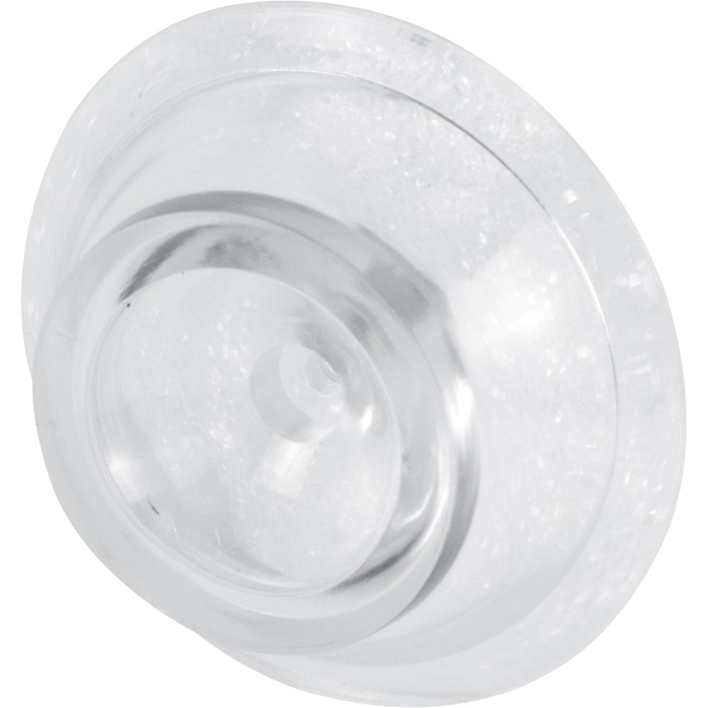 Prime Line Products U 9004 Door Knob Bumper, 2 5/16 In. Outside Diameter,  Vinyl, Clear (Pack Of 2)   Bi Fold Door Hardware   Amazon.com