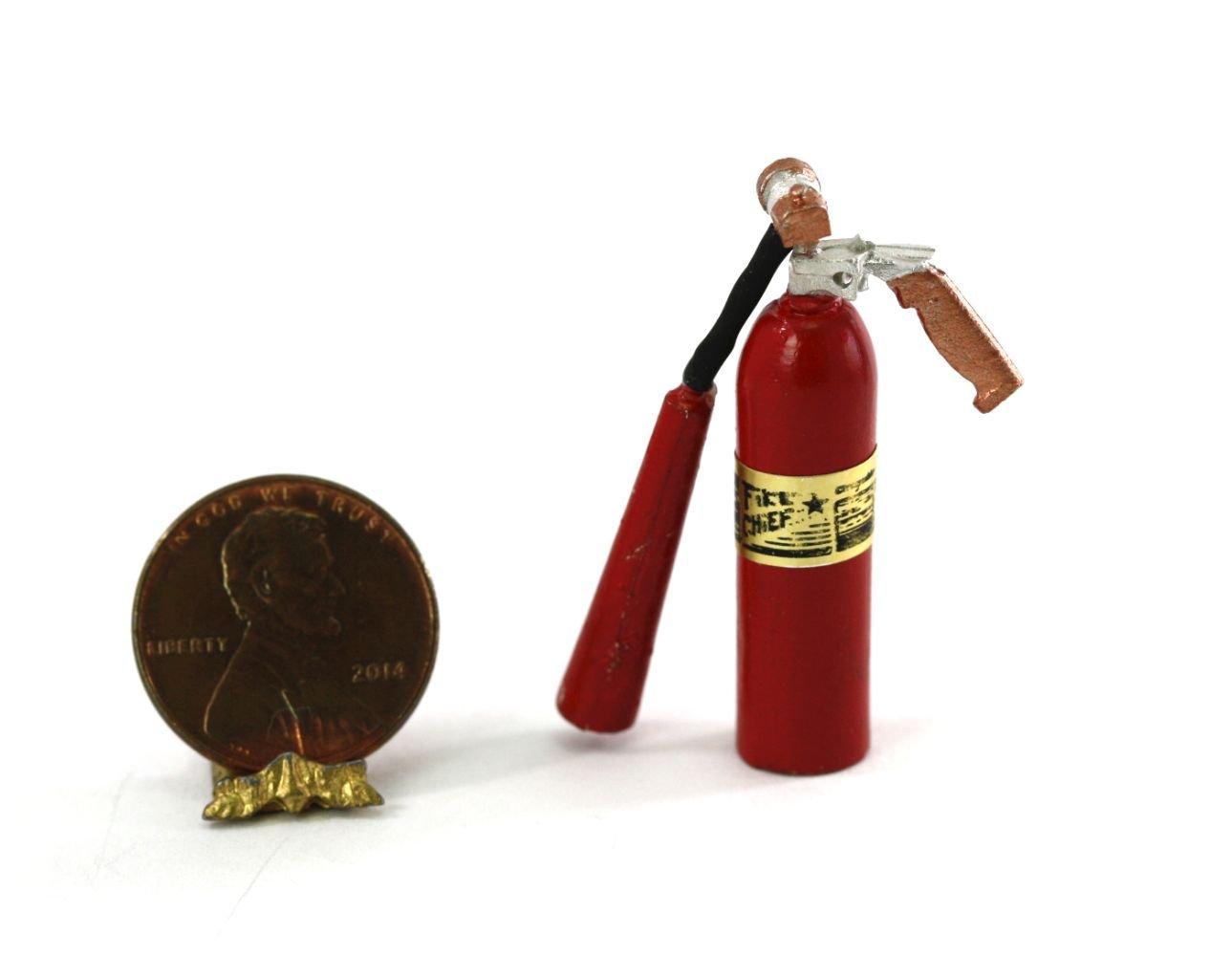 ドールハウスミニチュア1 : 12スケールAntique Look消火器by Sir Thomas親指   B076BQMXH6