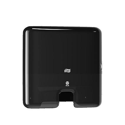 Tork 552108 Dispensador de toallas de mano entreplegadas / despachador de papel secamanos de Tork compatible con el sistema H2, 29,5x30,2x10,1, ...