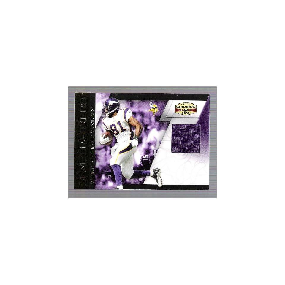 Gridiron Gear   Visanthe Shiancoe   Game Used Jersey Card   #129/250