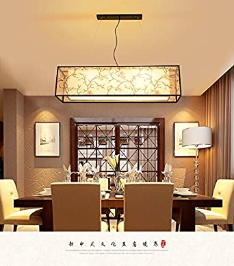Moderne Chinesische Wohnzimmer Esszimmer Bibliothek Hotel Antike  Schmiedeeiserne Leuchter Vintage Esszimmer Lampen, 80 * 25