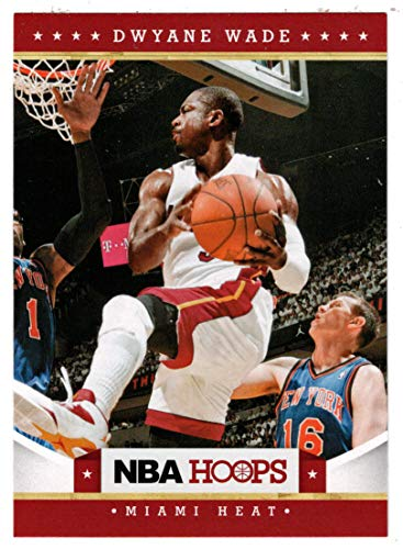 Dwyane Wade Hoops - Dwyane Wade (Basketball Card) 2012-13 Panini Hoops # 157 Mint