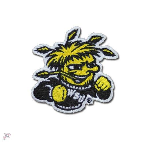 (Wichita State Shockers Mascot Logo Iron On Embroidered Patch Medium )